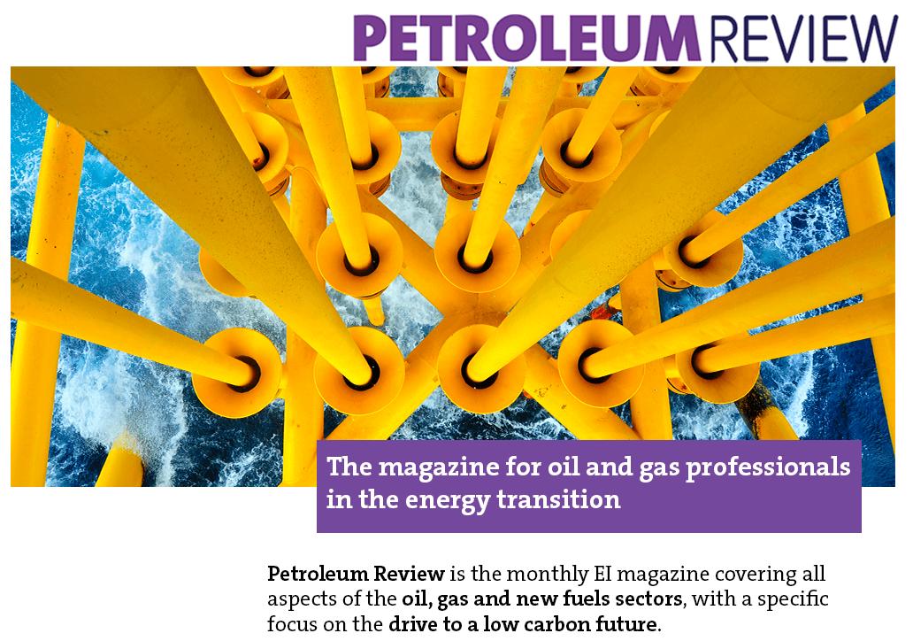 Petroleum Review magazine cover