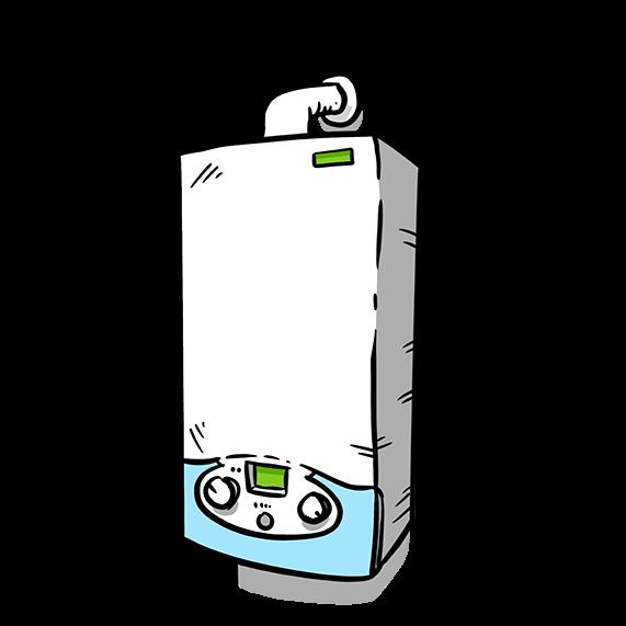 Hydrogen boiler